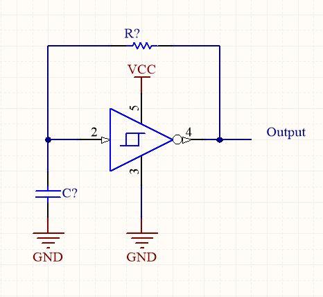 Schmitt Trigger Oscillator